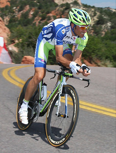 Basso on practice run