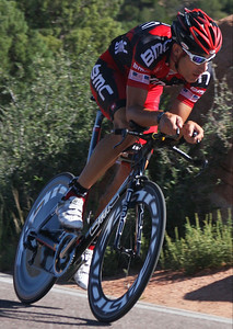 Hincapie on practice run