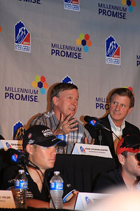 Colorado Governor John Hickenlooper making his welcoming remarks
