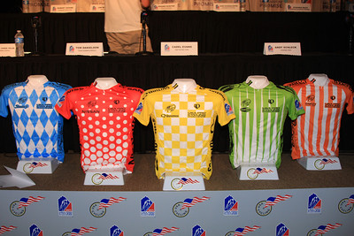 The Jerseys of the USA Pro Cycling Challenge