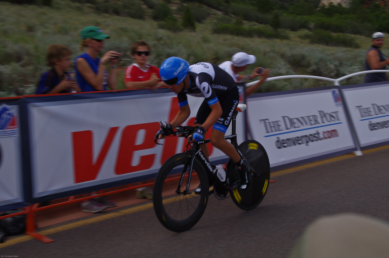 Tommy D at the Prologue