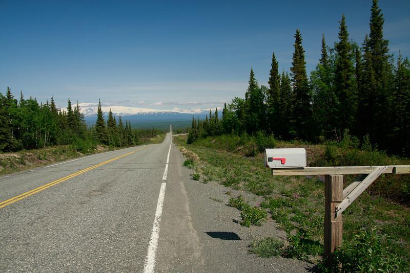 Heading towards the southern part of Wrangell - St. Elias, Alaska