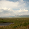 The land along the Denali Highway in Alaska was littered with little lakes
