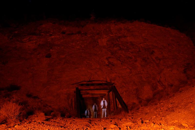 The Mojave Desert: a haunted mine...