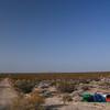 Desert camping, California