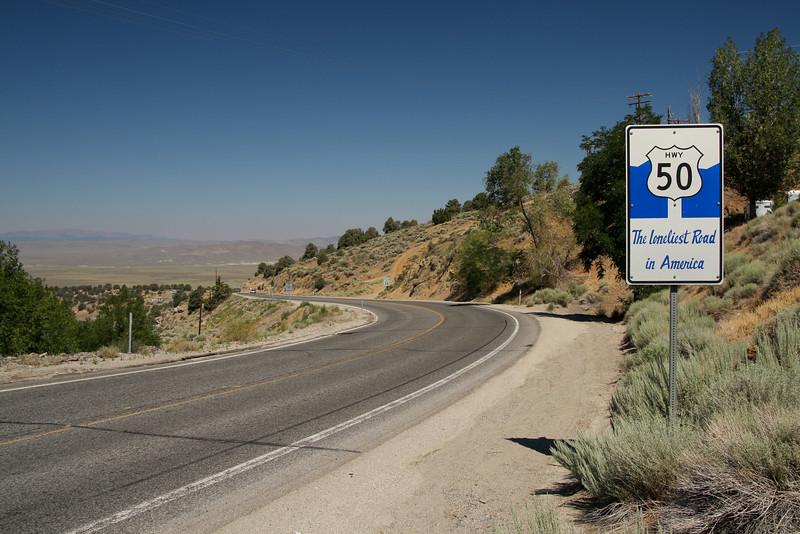 The Lonliest Road in America: Highway 50 across Nevada