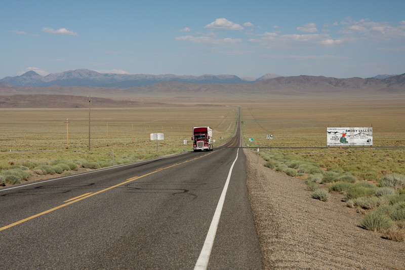 Nevada, full of wide open spaces