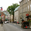 The beautiful historic district of Quebec City, Quebec