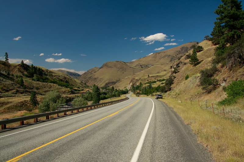 Heading north on Hwy 95 in Idaho