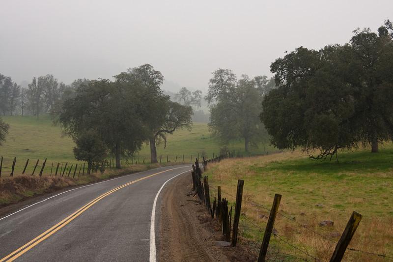 Near Sequoia National Park, CA