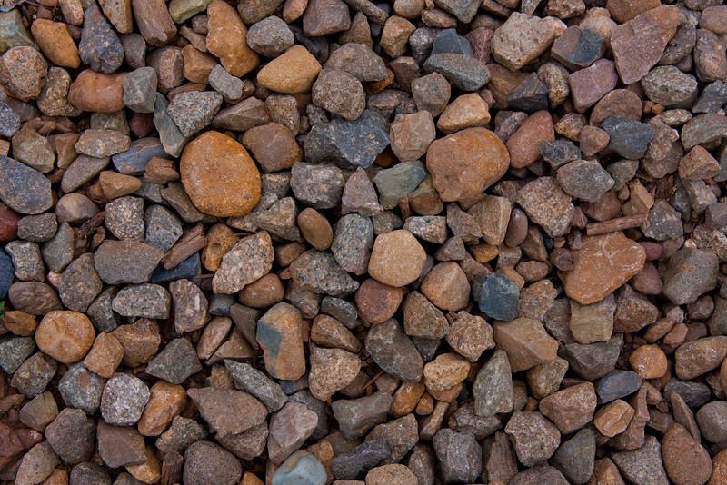 Natural gravel in Mesa Verde