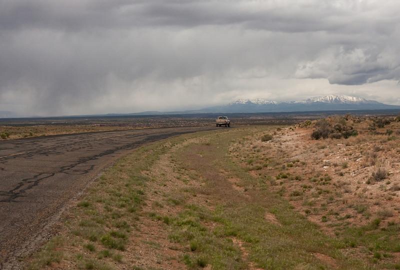A back road near Hovenweep, Utah