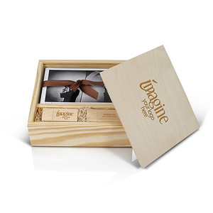 Wooden Box for USB and Prints