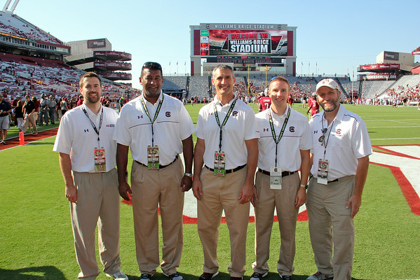 USC Sports Medicine at Football Game