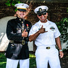 2nd Lieutenant Zechariah Rogers, Chief Petty Officer Braulio Galvan, First Salute