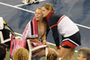Caroline Wozniacki, Kim Clijsters<br />  photo  by Rob Rich © 2009 robwayne1@aol.com 516-676-3939