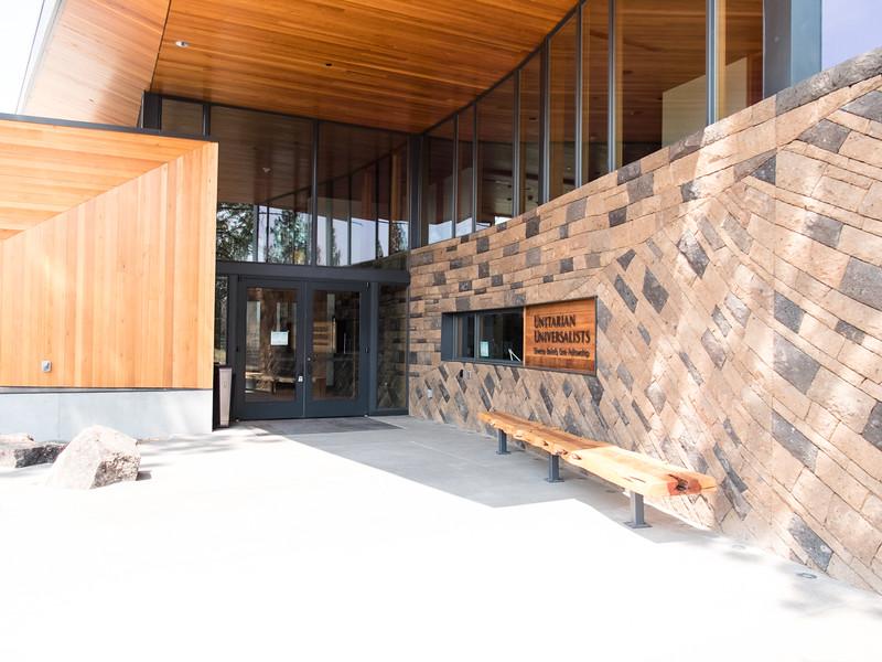 Exterior main entrance