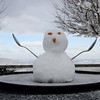 This little snow man was at the top awaiting our arrival