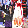 Demi Lovato gets an Uhuru as a gift on the George Lopez tonight show