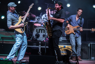Umphrey's McGee plays its first sold out show at Red Rocks Amphitheatre on July 5, 2014. Photos by Dylan Langille, heyreverb.com.