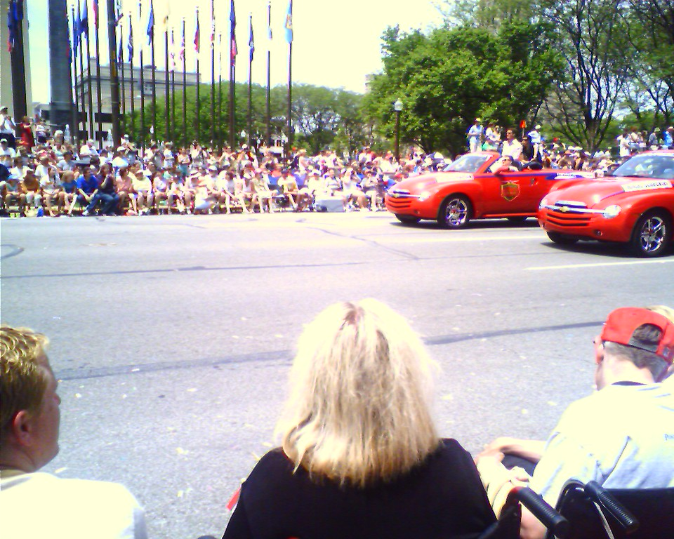 Danica In the Distance <br /> <br /> - Taken at 1:07 PM on May 27, 2006; cameraphone upload by ShoZu