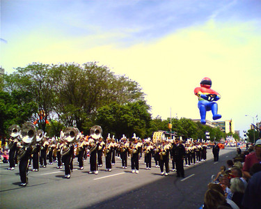Indy 500 Parade   - Taken at 12:07 PM on May 27, 2006; cameraphone upload by ShoZu