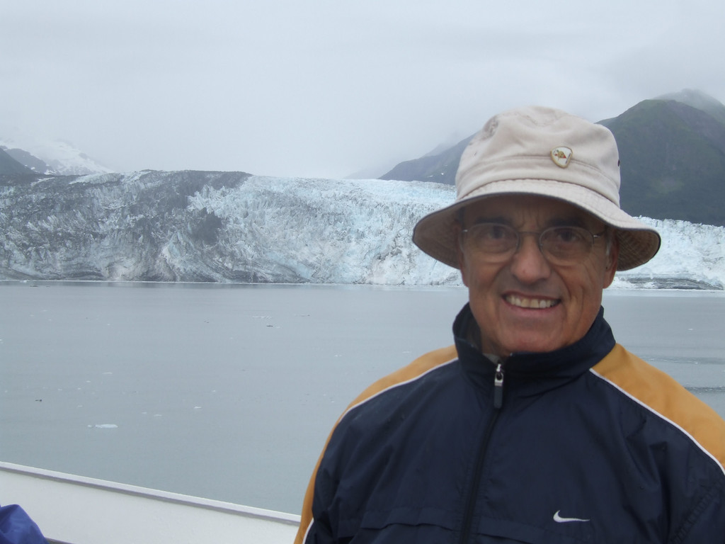 Léo Laporte <br /> My dad in Disenchantment Bay