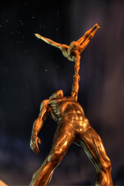 Acrobats Sculpture by John Robinson - the Australian Institute of Sport