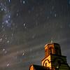 Church under the night sky, Canberra