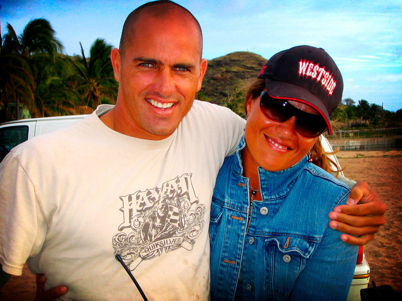 10x World Champion Kelly Slater.  I always admired Kelly Slater's surfing and his professionalism.  Not to mention his good looks!