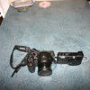 This is Francine's camera which we considered to be small.  But my Panasonic is tiny in comparison.