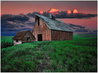 Barn, Oregon