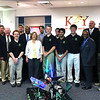 2013 - Robotics students with Mr. Frailey and board members at KISD meeting.