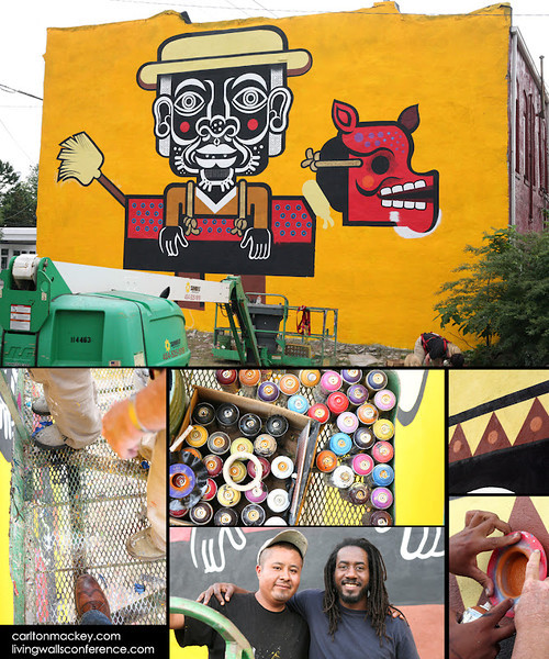 Living Walls, Carlton Mackey, Mexican Street Artist Neuzz