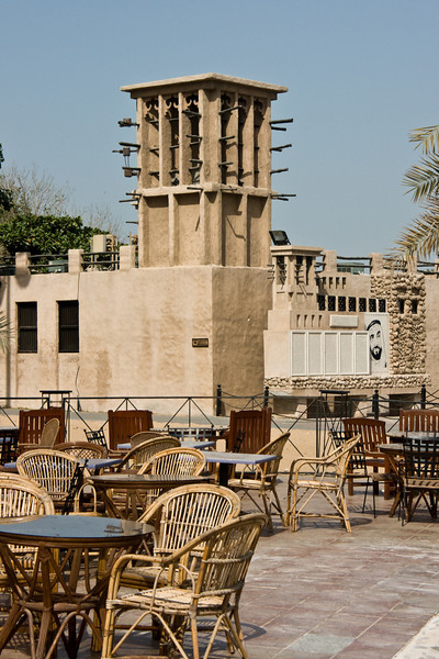 A bit of Heritage Village, in Dubai.