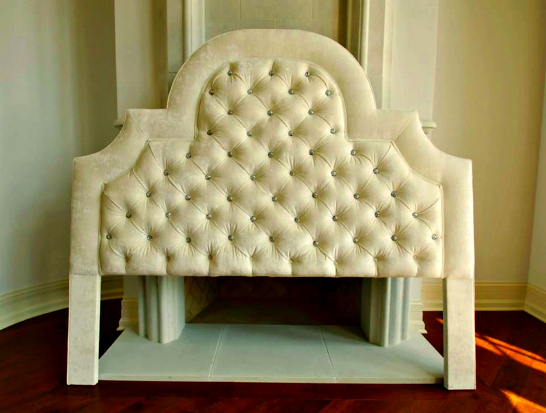 King Headboard with crystals