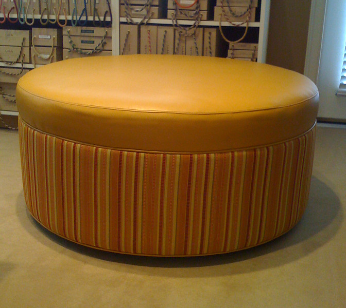 Ottoman made for Interior Designer Barry Lantz