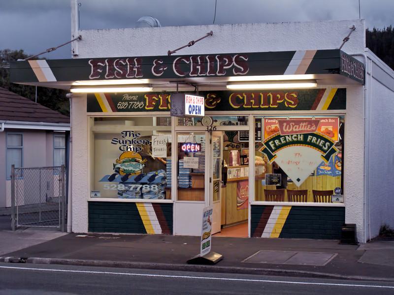Sunken Chip Fergusson Drive Upper Hutt 2010