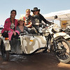 Carla King picks up even more motocycle mamas who share the same excitement over the Ural.