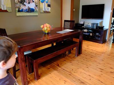 dining room near kitchen