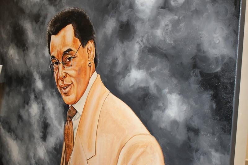 Don Cornelius by Muhammad Mubarak Photo © by Isidra Person-Lynn, My World Podcast
