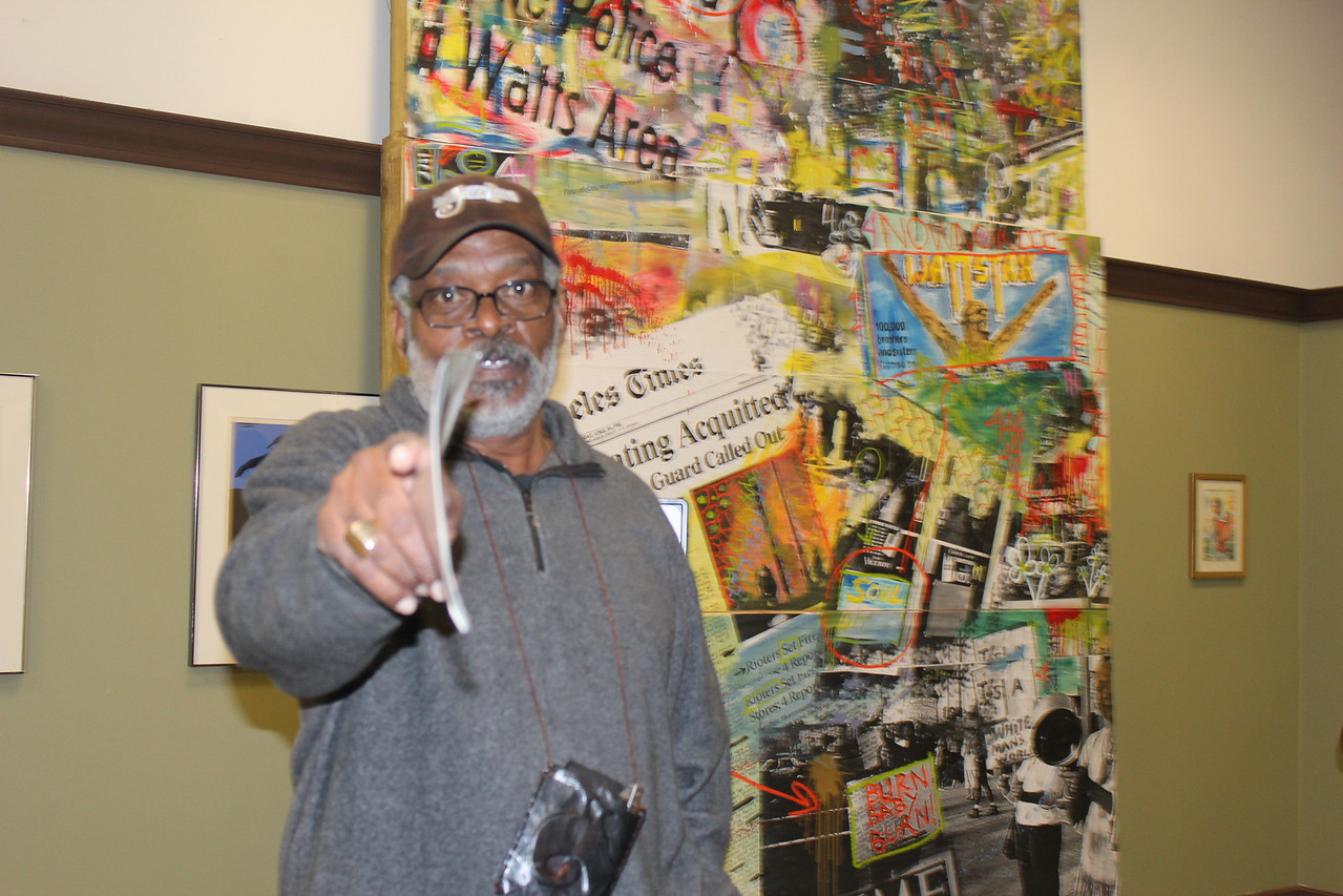Harold Hambrick, Los Angeles Black Business Expo Photo © by Isidra Person-Lynn, My World Podcast