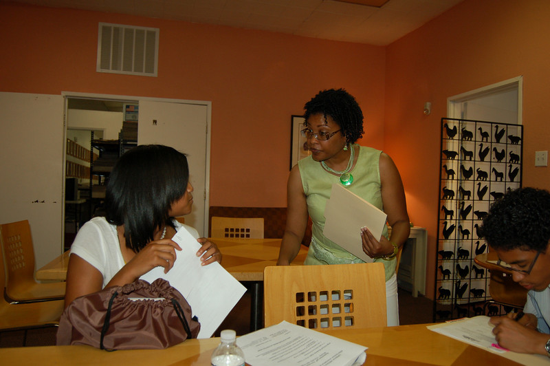Karen Dodd is the Urban Media Foundation's coordinator who interfaces with the parents and students.