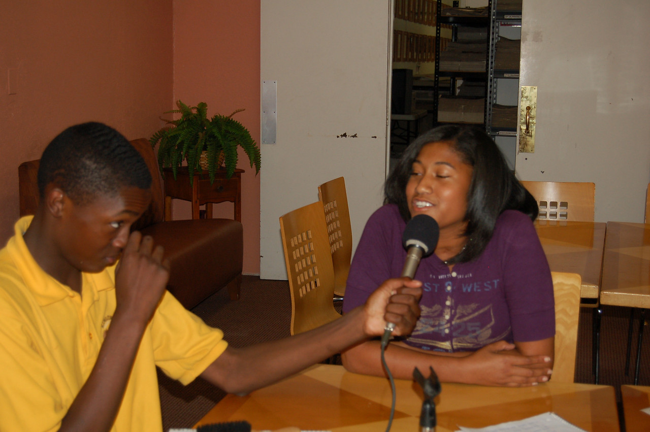 Bakari interviews Shauna about her life and life's work.