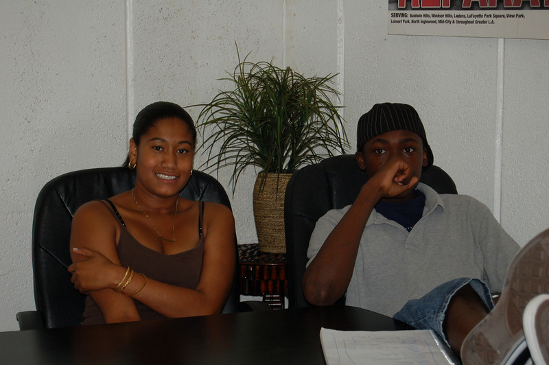 Shauna and Bakari