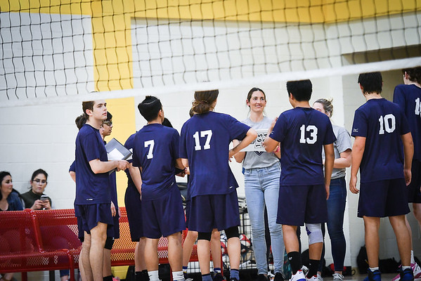 Urban vs. Making Waves Varsity Volleyball 2018