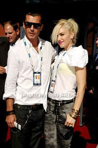 Gavin Rossdale, Gwen Stefani photo by Rob Rich © 2009 robwayne1@aol.com 516-676-3939