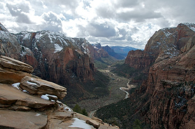 Zion National Park - Trail to Angel's Landing, summit