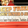 I just remember Mark Lee or someone joking about everything fried at fairs, so I had to get a pic of this sign.  LOL