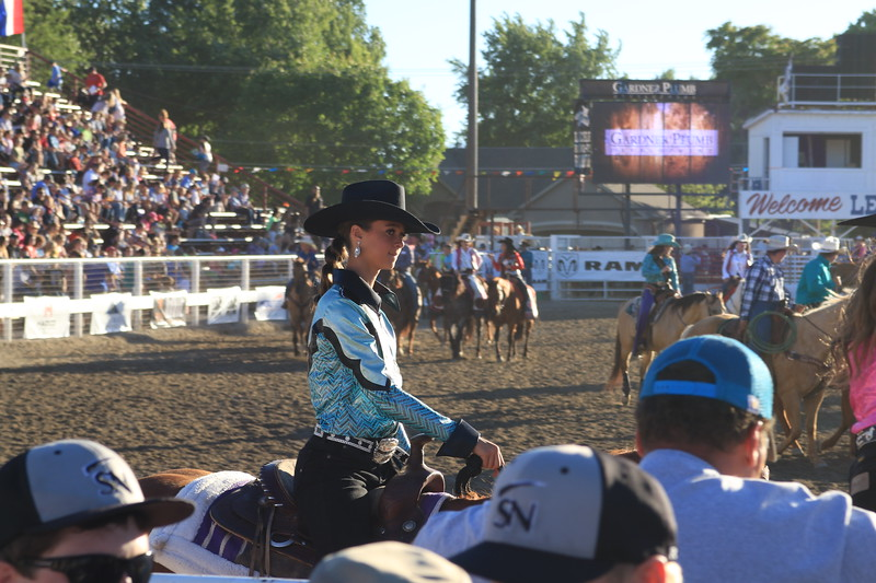 Lehi Round-up rodeo